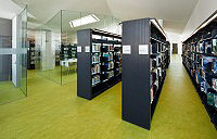 Library Mobile Shelving System