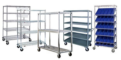 Mobile Shelving Examples
