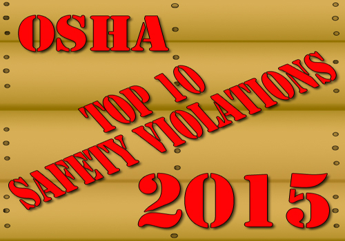 OSHA's Top 10 Safety Violations