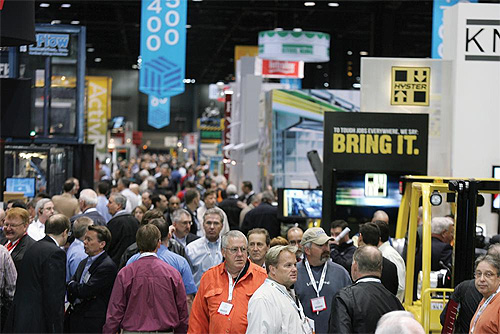 ProMat 2015 Convention Floor