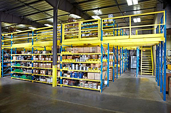 Rack Supported Mezzanines