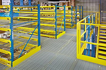 rack supported mezzanine