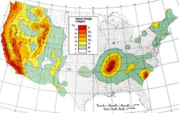seismic zone map