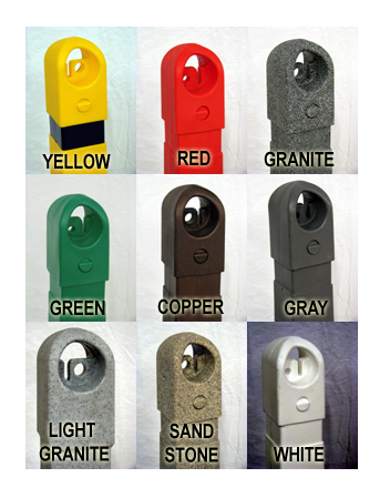 Sentry Guard Post Color Chart
