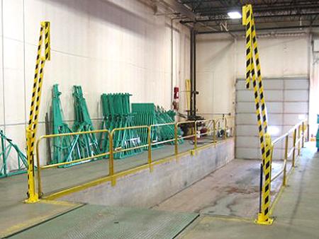 Cantilever Dock Safety Gate