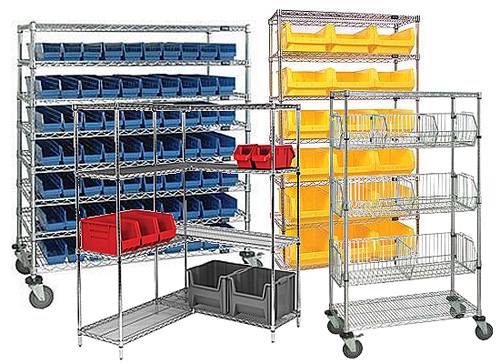 Wire Shelving Examples