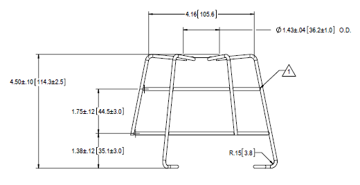 Replacement Guard Dimensions