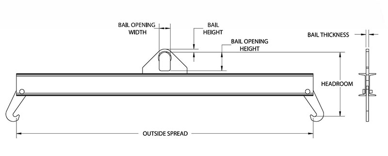 chlorine gas cylinder lifting beam drawing