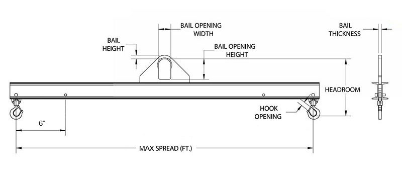lifting beam drawing