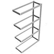 "Long Span Shelving, 48"" x 18"" x 84"" No Decking, 1000 Lbs. Cap., Adder"