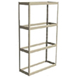 "Long Span Shelving, 48"" x 30"" x 84"" No Decking, 1200 Lbs. Cap., Starter"