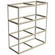 "Long Span Shelving, 72"" x 30"" x 84"" No Decking, 1000 Lbs. Cap., Starter"