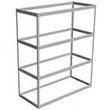 "Long Span Shelving, 72"" x 36"" x 84"" No Decking, 600 Lbs. Cap., Starter"