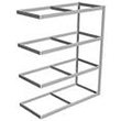 "Long Span Shelving, 72"" x 48"" x 84"" No Decking, 1500 Lbs. Cap., Adder"