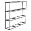 "Long Span Shelving, 96"" x 18"" x 84"" No Decking, 500 Lbs. Cap., Starter"