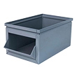 "800 Series Steel Hopper Box, 18"" x 10"" x 8"""