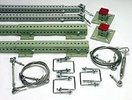Rack Net Mount Kit, Extension, Flush Mount, Starter