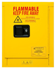 "Flammable Safety Cabinet - Manual Door, 36""W x 25-1/4""D x 21""H"