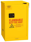 "Flammable Safety Cabinet - Self-Closing Door, 36""W x 25-1/4""D x 21""H"