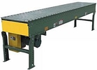 "Live Roller Spool Conveyor - 24""W x 25'L, 1.9"" Rollers"