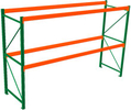 "Seismic Pallet Rack - 42""D x 120""H x 144""W Starter, 2 Beam Levels, 8020 lb. Cap./Level"