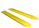 "Forklift Extensions (set of 2) for 5""w Forks - 120""L, Pin Style"