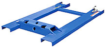 "Fork Truck Tow Base - 32""L, 4,000 lb. Capacity"