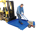 Fork Truck Mounted Loading Platform - Open Bed