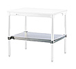 "Stainless Steel Topped Undershelf - 30""D x 34""H x 96""L"