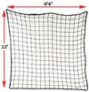 "Rack Safety Net, 9'4"" x 12', 2,500 ft. lbs. cap. 2"" x 2"" Nylon Mesh"