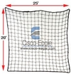 "Rack Safety Net, 25' x 20', 2,500 lbs. Cap. 2"" x 2"" Nylon Mesh"