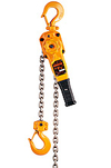 Lever Hoist - 1.5 Ton, 5' Lift, All-Steel Body