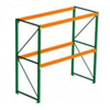 120h x 42d x 96w Pallet Rack Starter - 2 Beam Levels - 4000 Cap. Beams