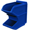 Gravity Flow Hopper - Small - Blue - 50 lbs. cap.