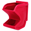 Gravity Flow Hopper - Large - Red/Blue - 75 lbs. cap.