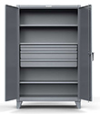 "Storage Cabinet with 4 Adjustable Shelves and 3 drawers - 36""w x 24""d x 72""h"
