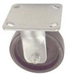 "40 Series Rigid Caster - 5"" x 1-1/2"" Urethane on Iron Wheel - 720 lb. Cap."