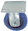 "40 Series Rigid Caster - 4"" x 1-1/2"" Urethane on Plastic Wheel - 500 lb. Cap."