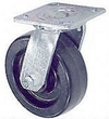 "45 Series Swivel Caster - 4"" x 2"" Phenolic Wheel - 800 lb. Cap."