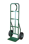 Steel Hand Truck with loop handle, pneumatic wheels