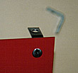 L-Shaped Mounting Clips for Unframed Exit Signs - Set of 2