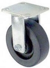 "65 Series Rigid Caster - 4"" x 2"" Polyolefin Wheel - 500 lb. Cap."