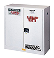 Flammable Waste Safety Cabinet - 44 x 43 x 18 - 2 door, manual  w/ Sure-Grip Handle, 30-gal.