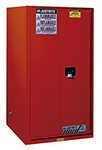 Paint & Ink Combustibles Cabinet - 65 x 34 x 34 - 2 door, self-close w/ Sure-Grip Handle, 120-gal.