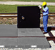 Railroad Track Center Spill Pan Cover