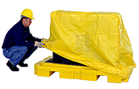 Pull Over Cover for 2-Drum Low Profile Spill Containment Pallet