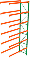 Pallet Rack Adder - 216h x 42d x 96w, 6 Beam Levels - 5080 Cap. Beams