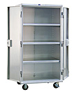 "Aluminum Mobile Security Cabinet - 37-1/4""W x 73""H x 26""L"