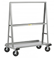 A-Frame Truck - 72 in. x 36 in. - 4 Swivel Casters w/ Wheel Brakes