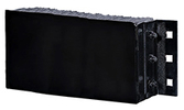 "Steel Faced Rubber Dock Bumpers - 12""H x 36""L x 6""D"